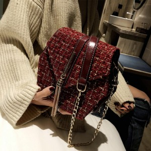 Женская сумка арт.Б655,цвет: Красное вино