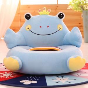 Кресло детское арт.ДМК02,цвет:Голубой лягушонок №2