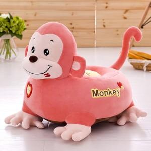 Кресло детское арт.ДМК02,цвет:Розовая обезьянка №21