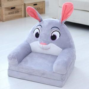 Кресло детское арт.ДМК03, цвет:Серый кролик