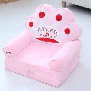 Кресло детское арт.ДМК03, цвет:Розовая корона