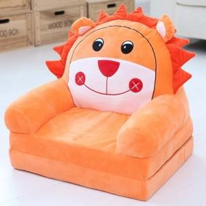 Кресло детское арт.ДМК03, цвет:Оранжевый лев