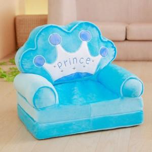 Кресло детское арт.ДМК03, цвет:Голубая корона