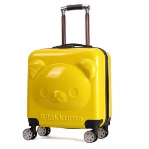 Чемодан арт.ЧД3,цвет: Желтый (20 дюймов)