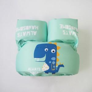 Детский спасательный жилет арт.СЖ10,цвет: Зеленый динозавр