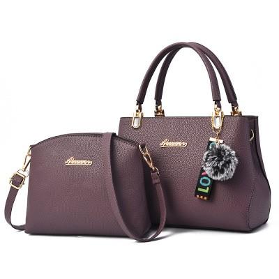 Набор сумок из 2 предметов арт.А596,цвет: Темно-Фиолетовый