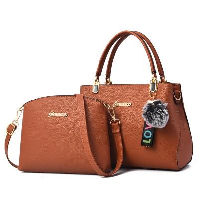 Набор сумок из 2 предметов арт.А596,цвет: Коричневый