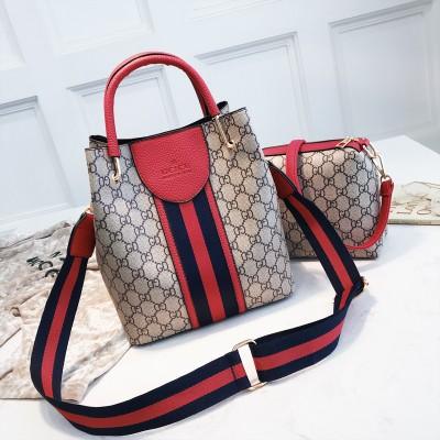 Набор сумок из 2 предметов арт.А597,цвет: Красный