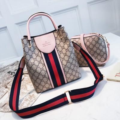 Набор сумок из 2 предметов арт.А597,цвет: Розовый
