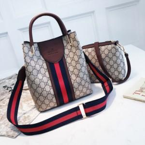Набор сумок из 2 предметов арт.А597,цвет: Темно-Коричневый