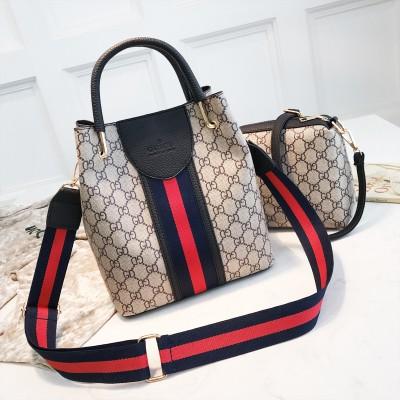 Набор сумок из 2 предметов арт.А597,цвет: Черный