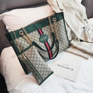 Набор сумок из предметов арт.А598,цвет: Зеленый
