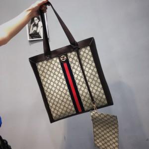 Набор сумок из 2 предметов арт.А599,цвет: Темно-Коричневый