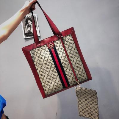 Набор сумок из 2 предметов арт.А599,цвет: Красный