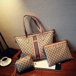 Набор сумок из 3 предметов арт.А600,цвет: Розовый