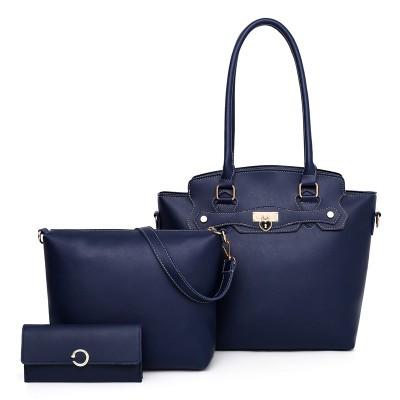 Набор сумок из 3 предметов арт.А601,цвет: Синий
