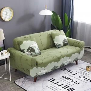 Чехол арт МЧ9 цвет: Светло-зеленый сад