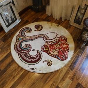 Ковер круглый арт.КВ36,Цвет: Водолей
