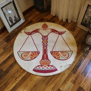 Ковер круглый арт.КВ36,Цвет: Весы