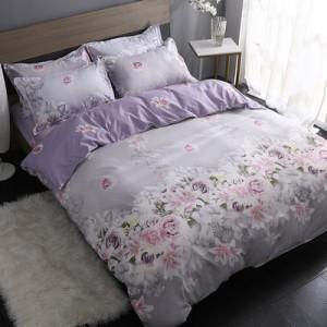 Постельный комплект арт.ПБ67,цвет: Фиолетовый цветок Любви
