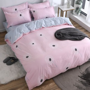 Постельный комплект арт.ПБ67,цвет: Светло-Розовый одуванчик