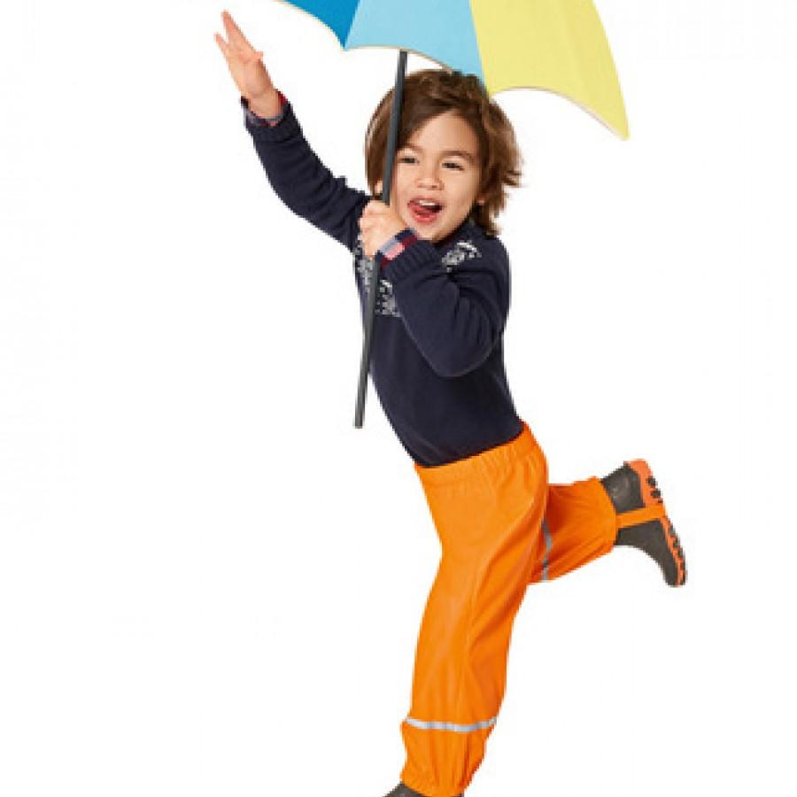 Водоотталкивающие штаны арт.НК9,цвет:Оранжевый
