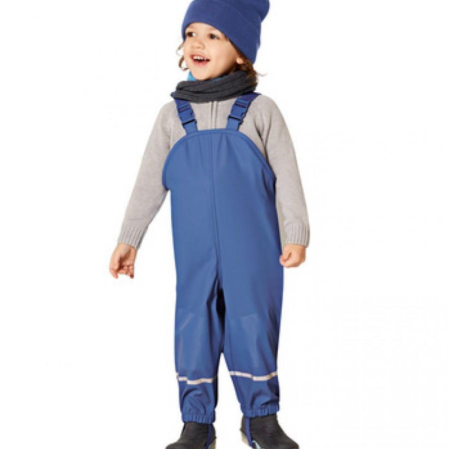 Водоотталкивающие штаны арт.НК10,цвет:Синий (полукомбез)