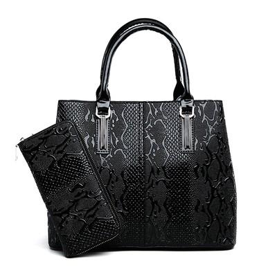 Набор сумок из 2 предметов арт.А602,цвет: Черный