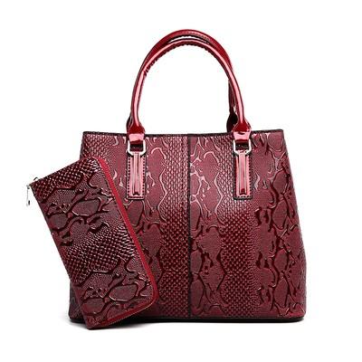 Набор сумок из 2 предметов арт.А602,цвет: Красный