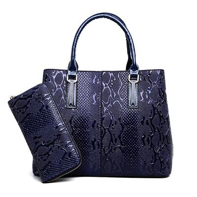 Набор сумок из 2 предметов арт.А602,цвет: Синий