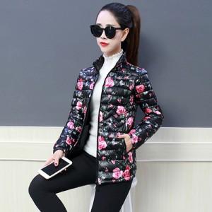 Куртка женская до размера 6XL арт.КЖ176,цвет: Цветок пиона
