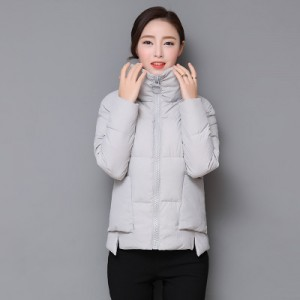 Куртка женская до размера 4XL арт.КЖ177,цвет: Серый