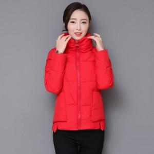 Куртка женская до размера 4XL арт.КЖ177,цвет: Красный