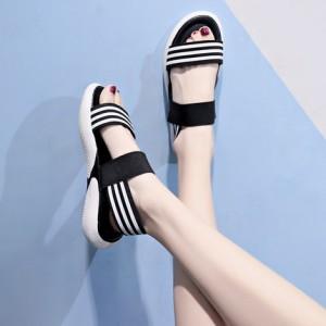 Женские сандалии арт.ОЖ396,цвет: Черный