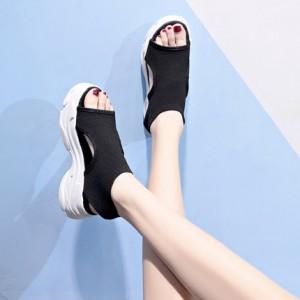 Женские сандалии арт.ОЖ398,цвет: Черный