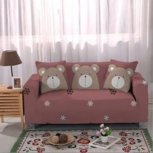 Чехол арт МЧ9 цвет: Маруновый медведь