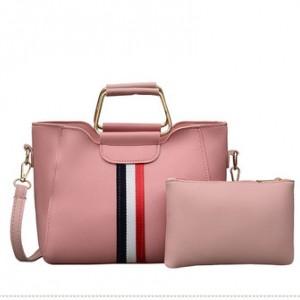 Набор сумок из 2 предметов арт.А606,цвет: Розовый