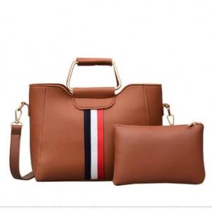 Набор сумок из 2 предметов арт.А606,цвет: Коричневый