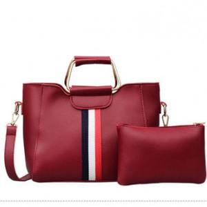 Набор сумок из 2 предметов арт.А606,цвет: Красный