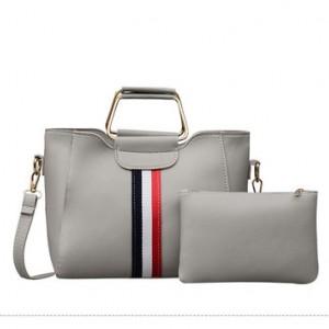 Набор сумок из 2 предметов арт.А606,цвет: Серый