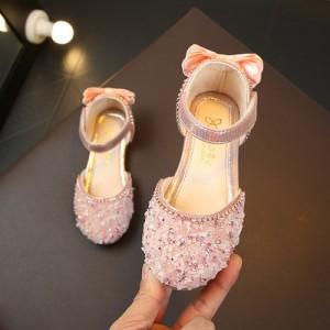 Детские туфли арт.ДС118,цвет: Розовый