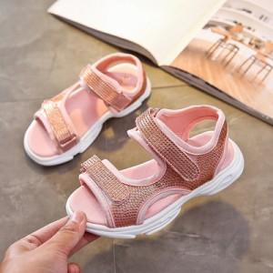 Детские сандалии арт.ДС121,цвет: Розовый
