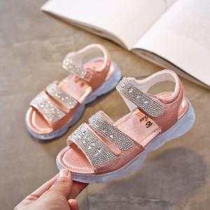 Детские сандалии арт.ДС123,цвет: Розовый