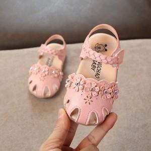 Детские сандалии арт.ДС124,цвет: Розовый