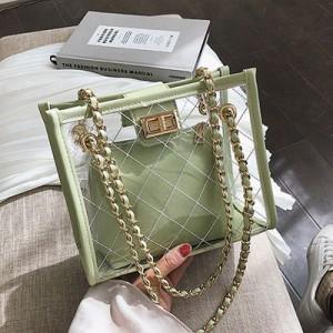 Набор сумок из 2 предметов арт.А608,цвет: Зеленый
