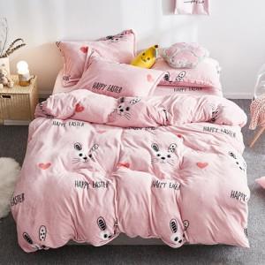 Флисовый комплект  арт ПБ2 цвет: Розовый кролик