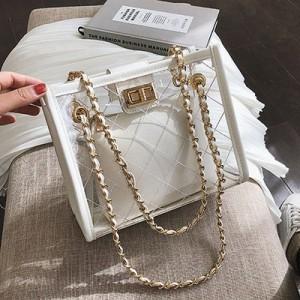Набор сумок из 2 предметов арт.А608,цвет: Белый