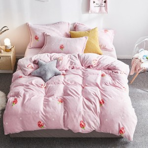 Флисовый комплект  арт ПБ2 цвет: Розовая земляника