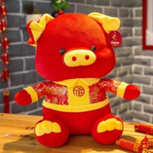 Мягкая игрушка арт.ИГ13,цвет: Благословенная свинка талисман