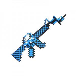 Игрушка MINECRAFT арт.ИГ14,цвет: Синий пистолет пулемет